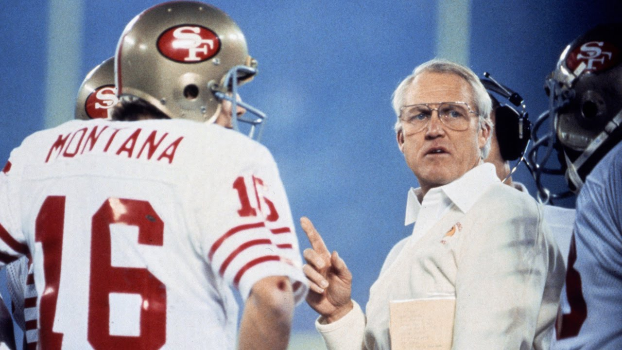 joe montana bill walsh